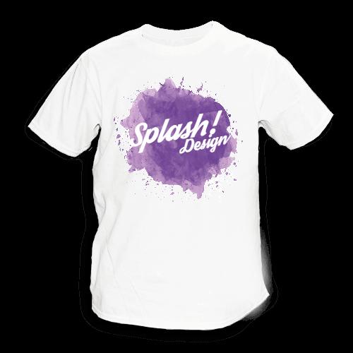Splash purple